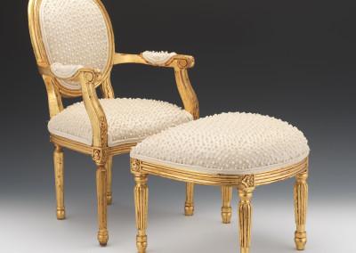 Mimilo - Tapissier et décorateur - Restauration de fauteuil à Bordeaux - Chaise Louis XVI