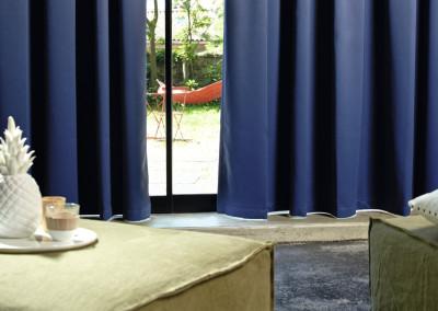 Mimilo, tapissier et décorateur  à Bordeaux - Couture et confection - Rideaux Élitis