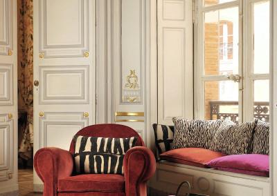 Mimilo, décoration et aménagement d'intérieur - Fauteuils et coussins Élitis