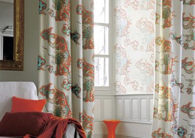 Mimilo, décoration et aménagement d'intérieur - Rideaux et coussins Élitis